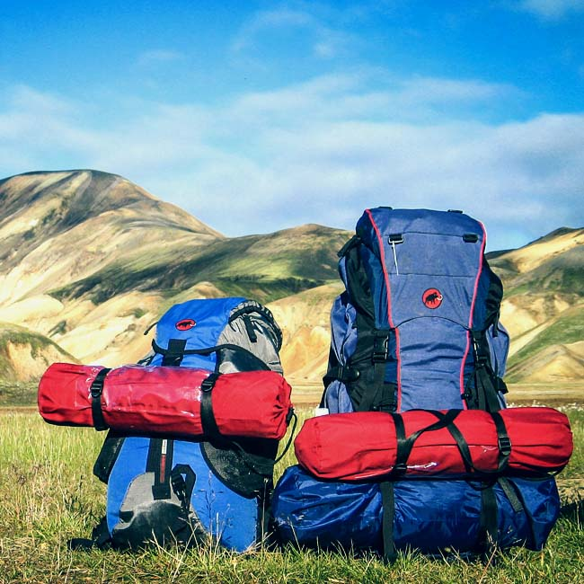 Summer Hiking Equipment