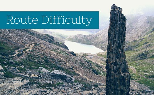 Snowdon Route Difficulty