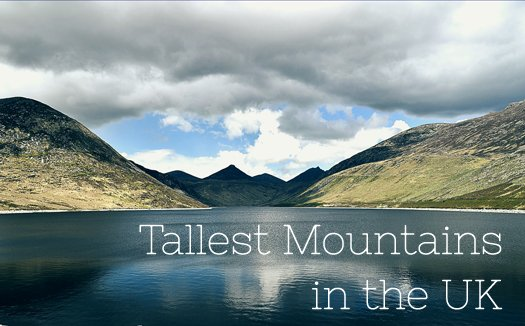 Tallest Mountains in the UK
